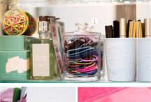 Organization ideas / When you get messy