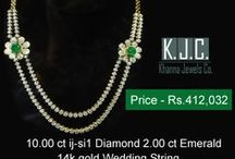 Diamond Necklace / Trendy & Unique Diamond Necklace that surely you can carry off with every type of attire.