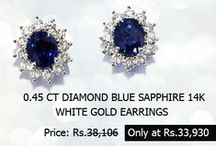 Diamond Earrings / Earrings are a must for every occasion, mat it be religious, personal, formal or social, but a pair of beautiful diamond earrings can compliment your entire beauty do.
