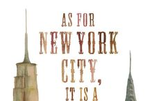 The land of NYC / There's something about this place...