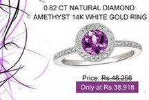Diamond Gemstone Rings / The gemstone jewellery at Khanna Jewels is a pure way to express your friendship, love, commitment and give away a promise to your special someone.
