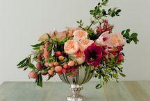 Wedding - Floral Arrangements / by Kathleen McBride Design