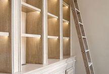 Design - Bookcases & Millwork / by Diamond Designs