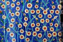 Osmanli motifler desenler renkler