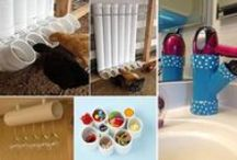 DIY Home Decorations using pipes and metals / Rods, metal sheets, etc. / by Alison Icher