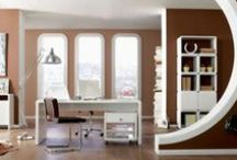 Decoración de Oficinas / Imágenes de oficinas modernas, con color, con colores neutros. Decoración en oficinas! / by Goldstein Propiedades