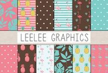 LeeLee Graphics / Texture Packs and Clip Art