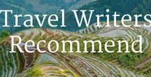 Travel Writer Recommendations / Travel inspiration from some of my favorite travelers! If you're pinning to this board, please no more than two a day and only travel content - i.e. no blogging or product posts.