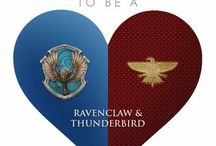 Ravenclaw & Thunderbird / Ravenclaw through and through. I was accepted by both Thunderbird and Pukwudgie, and I chose Thunderbird .