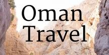 Oman Travel / Is Oman on your bucket list? Well, it should be! Here I share things to do, tips and blog posts about my (and others') adventures in beautiful Oman.