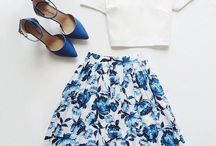 flowy A-Line Skirt Outfits
