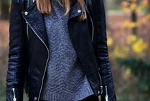 Leather Jacket Look