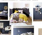 Planches tendances / Décoration d'intérieur, planches tendances créées par Marion Bur, conseil en décoration chez Equilibre Déco, www.equilibre-deco.com