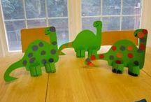 Thema : Dino's / by Carine Lievens