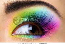 For the love of rainbow make up.