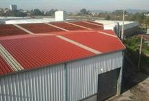Cubiertas de Naves / Pinturas y soluciones para cubiertas y tejados.