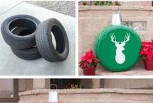 Reifen in der Adventszeit / Christmas Inspiration