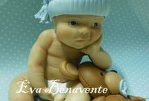 Babies! Fondant and Gumpaste / Who doesn't love a baby. / by Deva Kolb