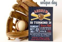 Baseball Birthday Party / by The Unique Day