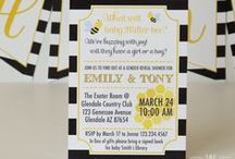 Honey Bee Gender Reveal Baby Shower / by The Unique Day