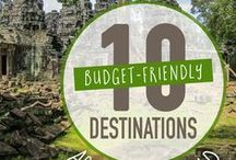 Budget Travel Destinations / Need budget destination ideas? Check out these Pins!