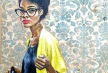 Black art / Art created by or featuring black people