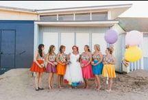 Wedding Bride & Bridesmaid Style