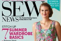 Latest & Greatest Issue of Sew News / Find out what's in our latest issue. Plus see past issues