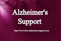 Alzheimer's Support / http://www.free-alzheimers-support.com - Where we share and learn about helping our loved one with Alzheimer's as well as the Caregiver--