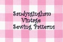 Sandysgingham Vintage Sewing Patterns / Favorite Vintage Patterns from the 1990's - Brand New and Uncut
