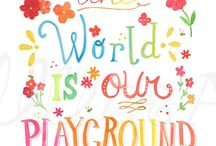 Favorite Places & Spaces for kids