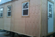 We're moving our TINY HOME in New Mexico!!!   / We are building a Tiny Home! We are not crazy. We're finally being smart and taking control of our living costs! Our goal is to reduce our monthly living expenses to improve the quality of our life.  We are decent average American folks. We work hard and try to do the right things, but just cant seem to get ahead. After spending two years researching the Tiny House movement, we've made the decision to build our own Tiny Home.   http://www.gofundme.com/Tiny-Home-American-Dream