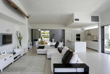 My new modern home / Ideas for a new home that's a blank canvas for my design ideas!