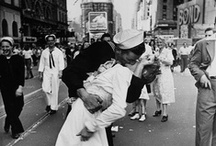 Alfred Eisenstaedt / Alfred Eisenstaedt (December 6, 1898  – August 24, 1995) was a German-born American photographer and photojournalist. He is best known for his photograph of the V-J Day celebration and for his candid photographs, frequently made using a 35mm Leica camera. Since 1999, the Alfred Eisenstaedt Awards for Magazine Photography have been administered by the Columbia University Graduate School of Journalism. / by Jean-Christophe