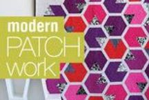 Haute Hexies! / Sewing projects featuring hexagon patterns, piecing and applique!