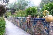 Fences & Garden Walls / by Heather Smith