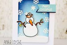 TAWS Chill Out / This is an awesome Snowman Stamp set.. sure to make it into your holiday and winter cards. :)