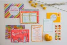 Wedding Stationary Inspiration / Wedding invites, save the date and stationary / by Jel Photography