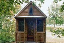 Tiny Bitsy House / Tiny house ideas / by Amanda May