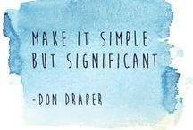 Inspiration Quotes / Inspiring quotes, designed by Marketing Eye to give your day a little boost!