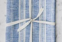 Linen Bath Sheets / 100% linen towels hand-made in Vancouver, BC