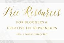 Business & Blog Development / Resources to help you build your own business & blog...and make money doing it!