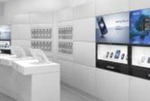 H3G 3 Store Project / Brunello Sighinolfi Architettura della comunicazione -  Arte + Sistema = Corporate Design - Architettura, Design, Grafica, per esprimere l'identità complessiva del Brand.