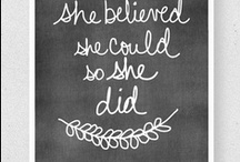 warm and fuzzy! / quotes, links, sayings - in celebration of women!