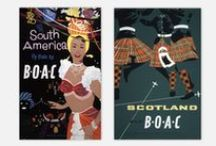 Vintage British Aviation Posters / British Aviation Posters comprises a fascinating collection of vintage advertisements during the golden era of aviation history