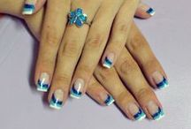 Nails <3 / Some of the nail art that I made :)