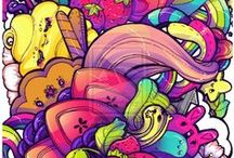 Kawaii Art / Kawaii style art and design from people who inspire me