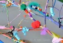 Fun Kids Art / FUN ideas for creating ART with kids!