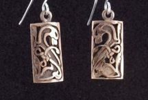 Earrings / My original earring designs ~ pair them up with a pendant or bracelet, or enjoy them on their own.