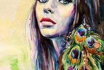 portraits / This is what I call portrait painting